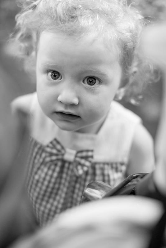 Fotografía extraordinaria de niña en Algeciras