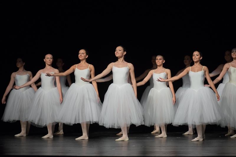 Bailarinas de ballet clásico Danubio