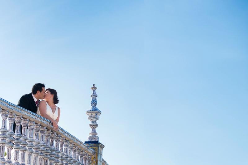 Espectacular fotografía de boda en Algeciras