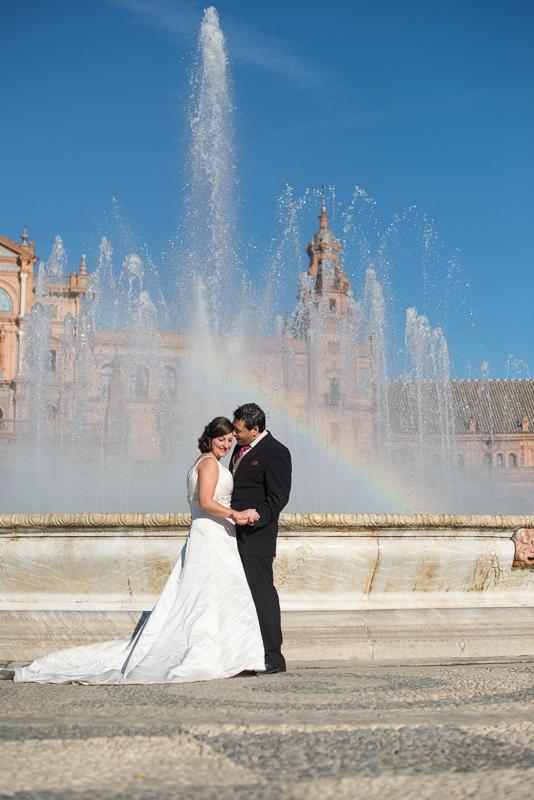 Fotógrafo de boda romántico y original en Algeciras