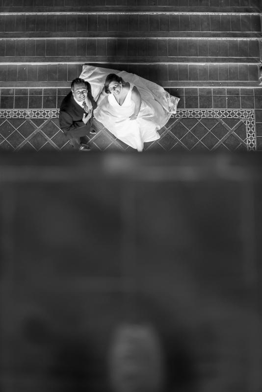 Fotografía de boda original y diferente en Ceuta