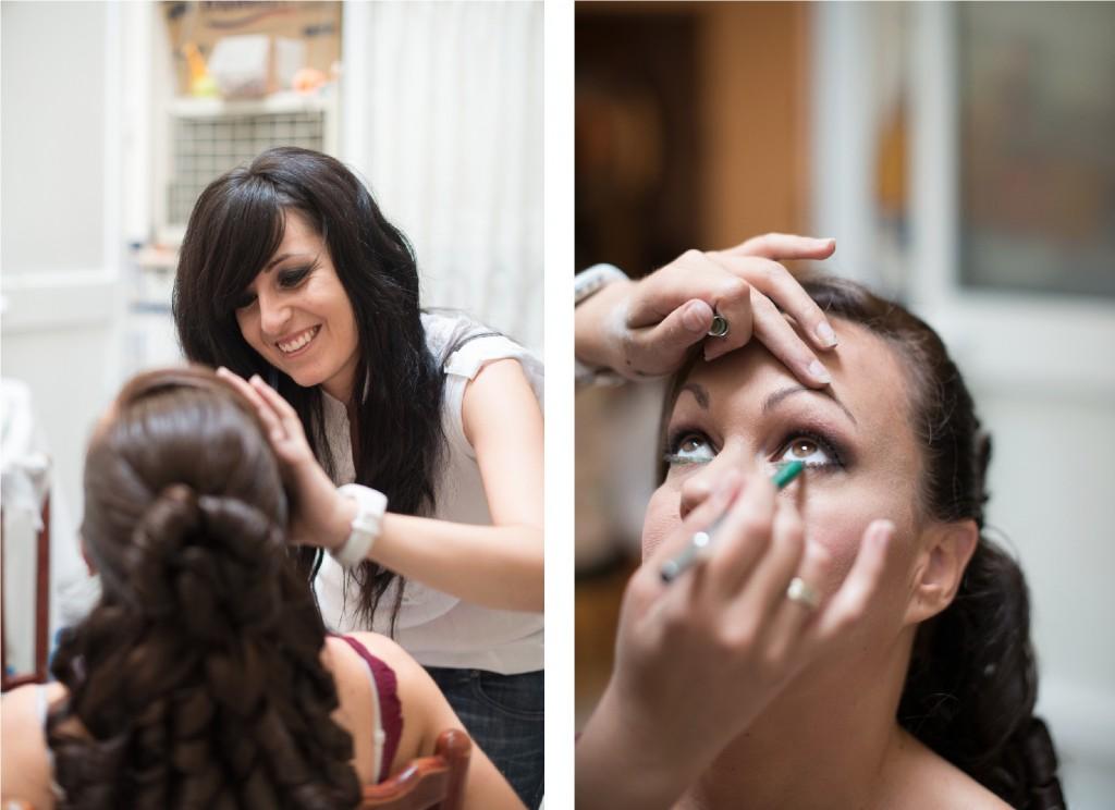 Maquillaje de novia a domicilio en Algeciras