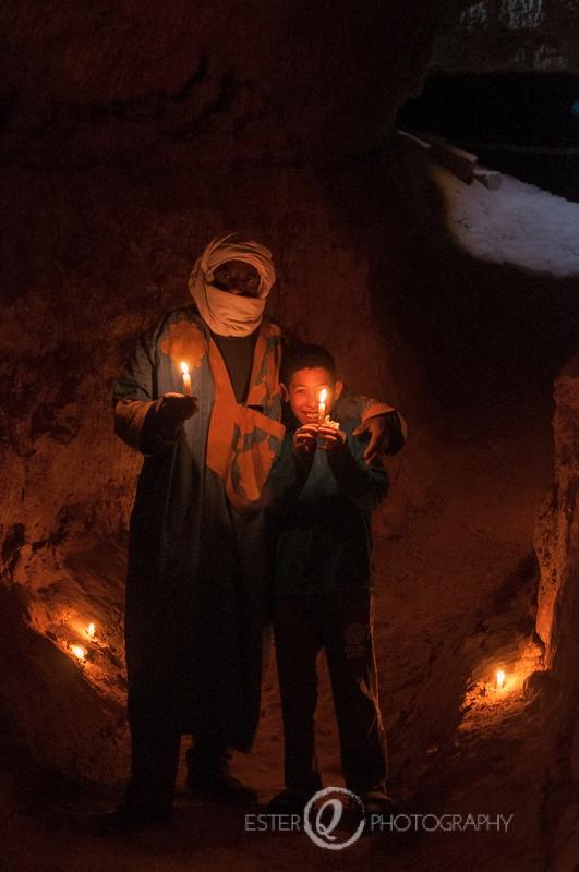 Viaje a Marruecos-Fezna, Errachidia, depósito subterráneo para el agua