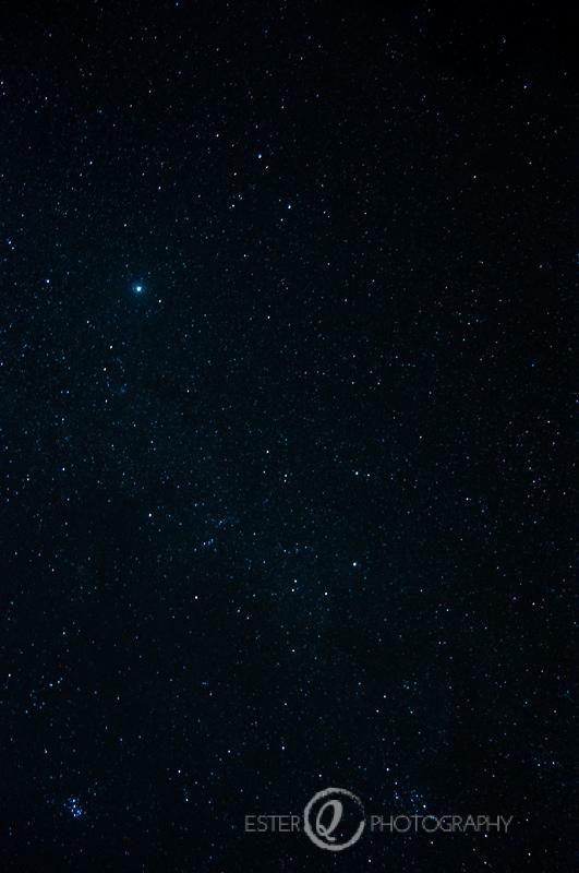 Viaje a Marruecos-cielo nocturno en el desierto Erg Chebbi