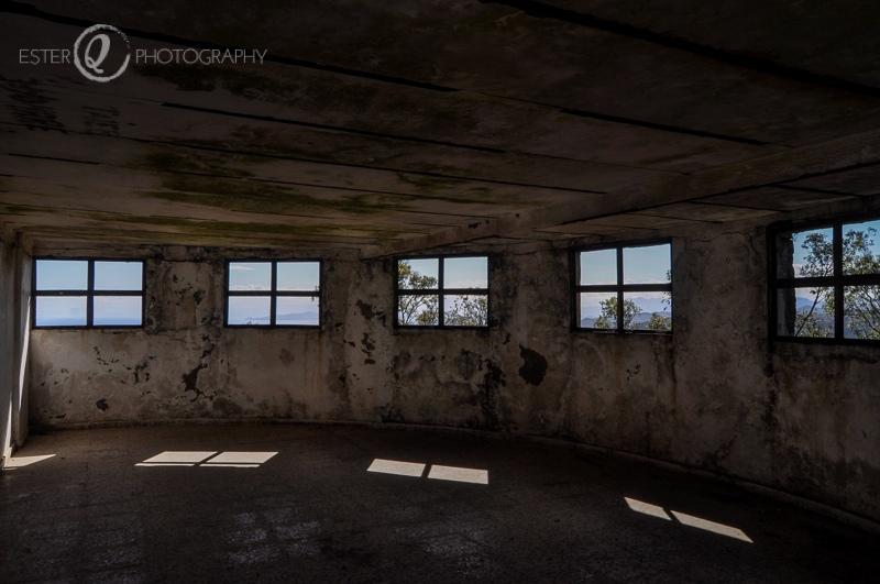 Interior del fuerte Anyera