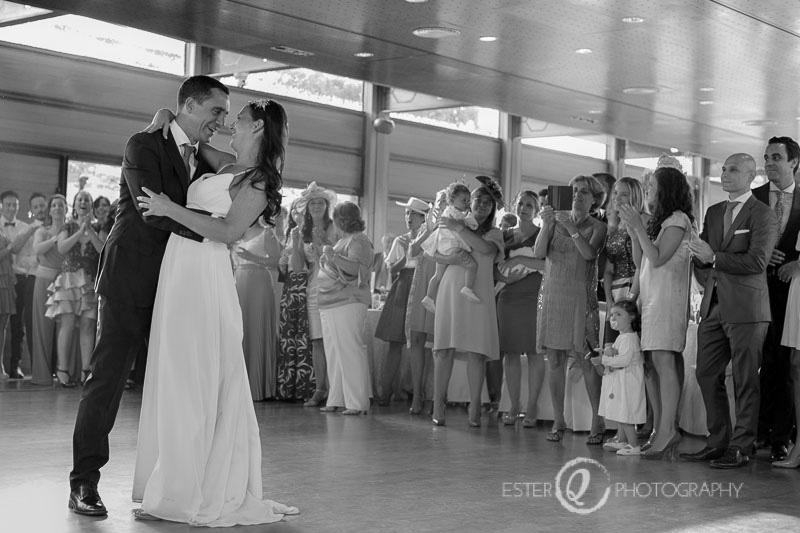 Fotografía artística de boda de primer baile en Ceuta