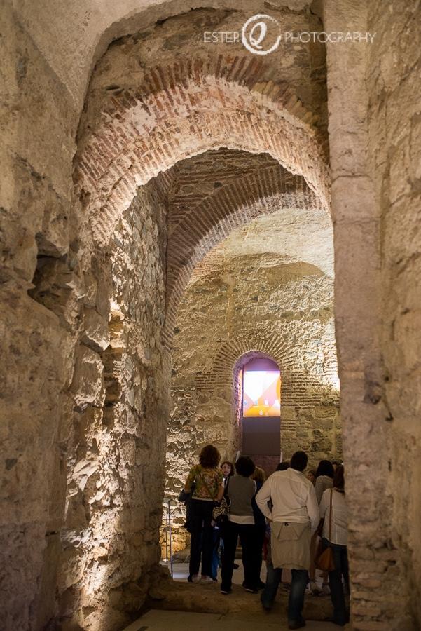 Arcos de la puerta califal de Ceuta