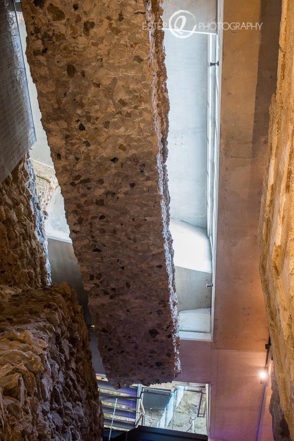 Merlón original de la muralla de Ceuta en época musulmana