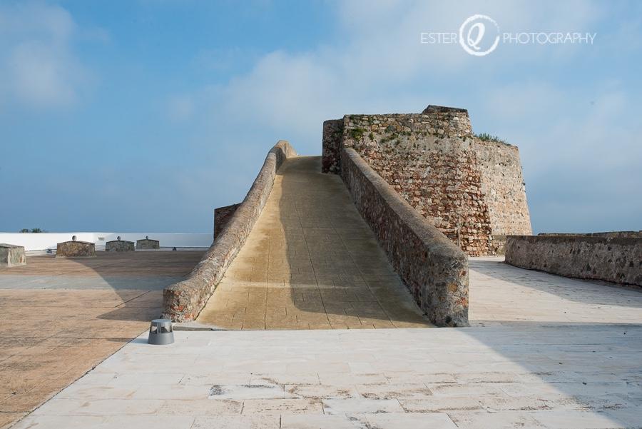 Cubierta de la Muralla Real de Ceuta