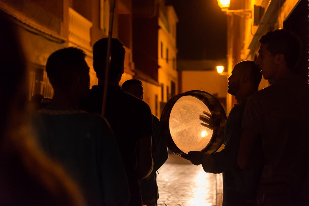 Música tradicional marroquí en boda Ceuta