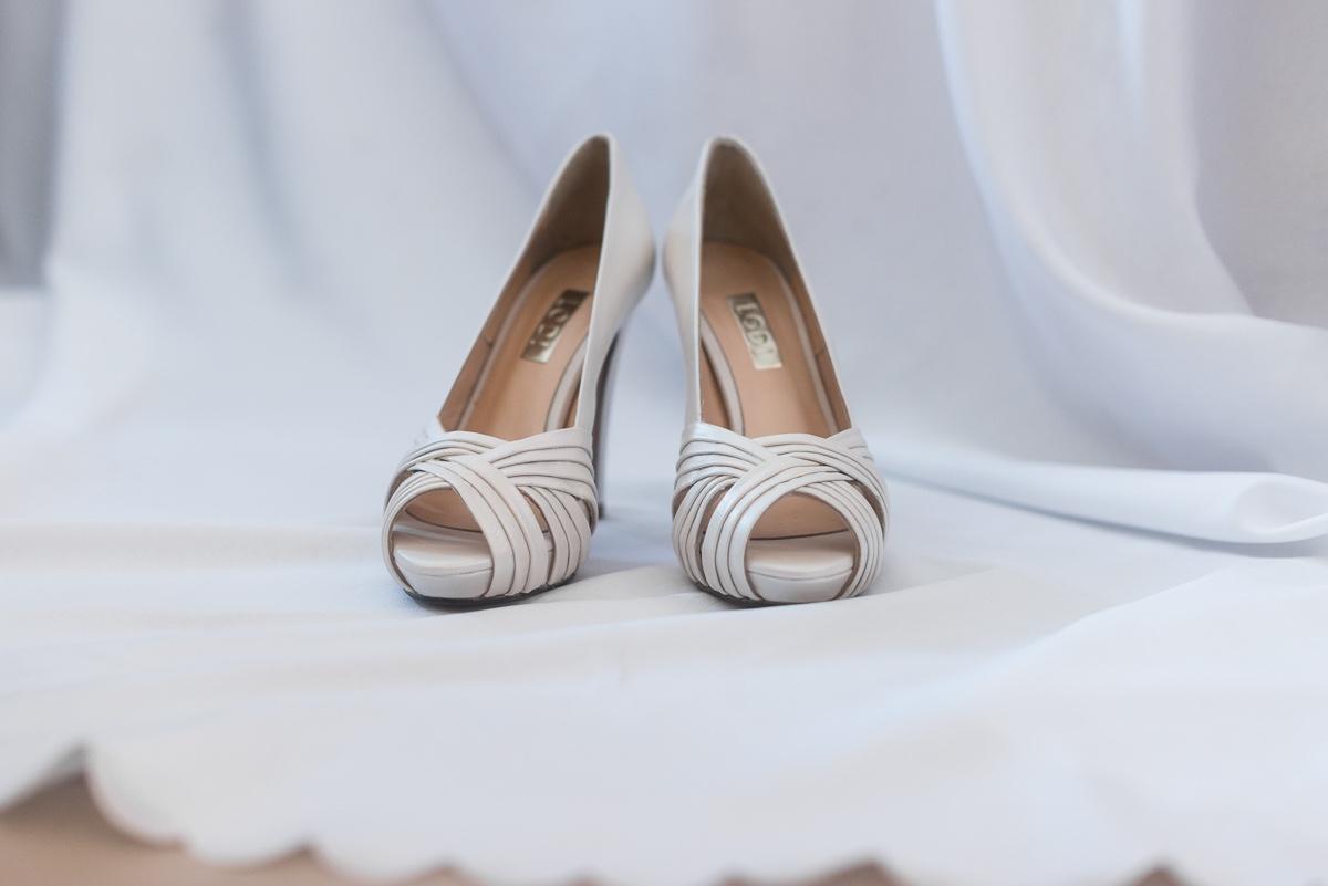 Zapatos de novia en boda musulmana de Ceuta