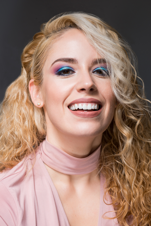 Sesión fotográfica beauty con la bloguera de Ceuta Patricia Patripaan con look de Julia's Place realizado por Sirin beauty makeup