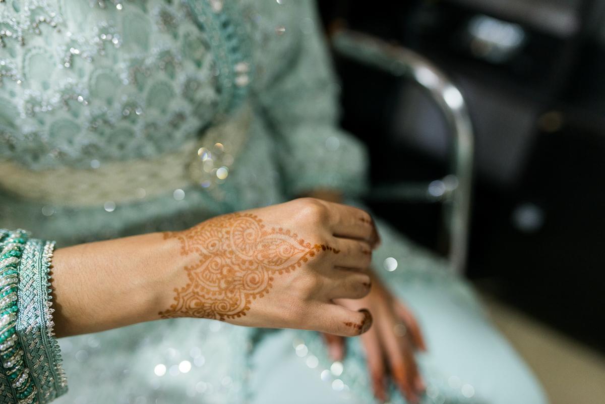 Fotografía de detalle de heno durante boda musulmana en Ceuta y Algeciras