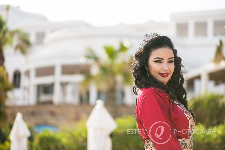 Sesión de fotos con novia musulmana en Marruecos