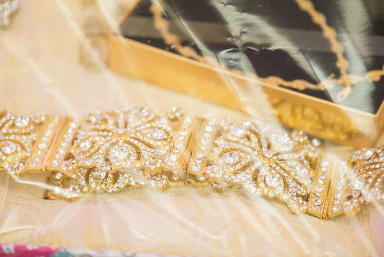 Joyas de oro como regalo de boda musulmana en Castillejos